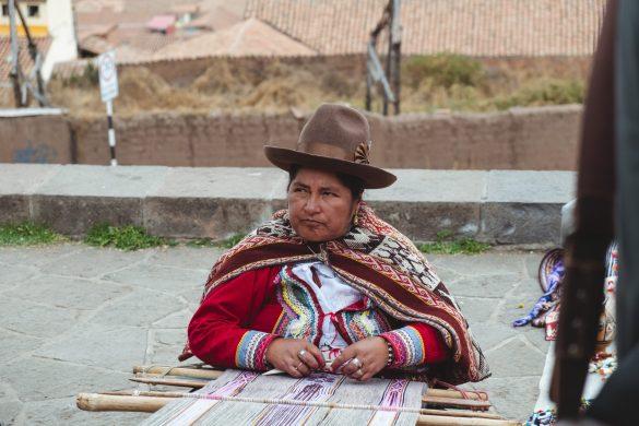 Native peruvian lady