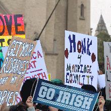 LGBTQ alumni find friends in Notre Dame administration