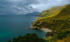 Północne wybrzeże Sycylii w rezerwacie Zingaro