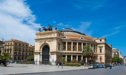 Teatro w Palermo