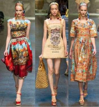 Kolekcja mody z Sycylii