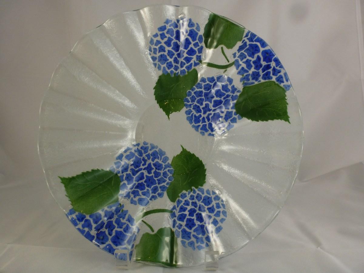 Hydrangea Deep V Bowl