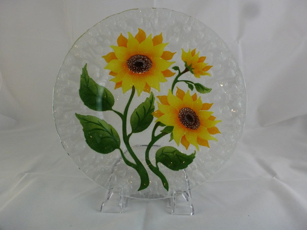 Sunflower Dinner Plate