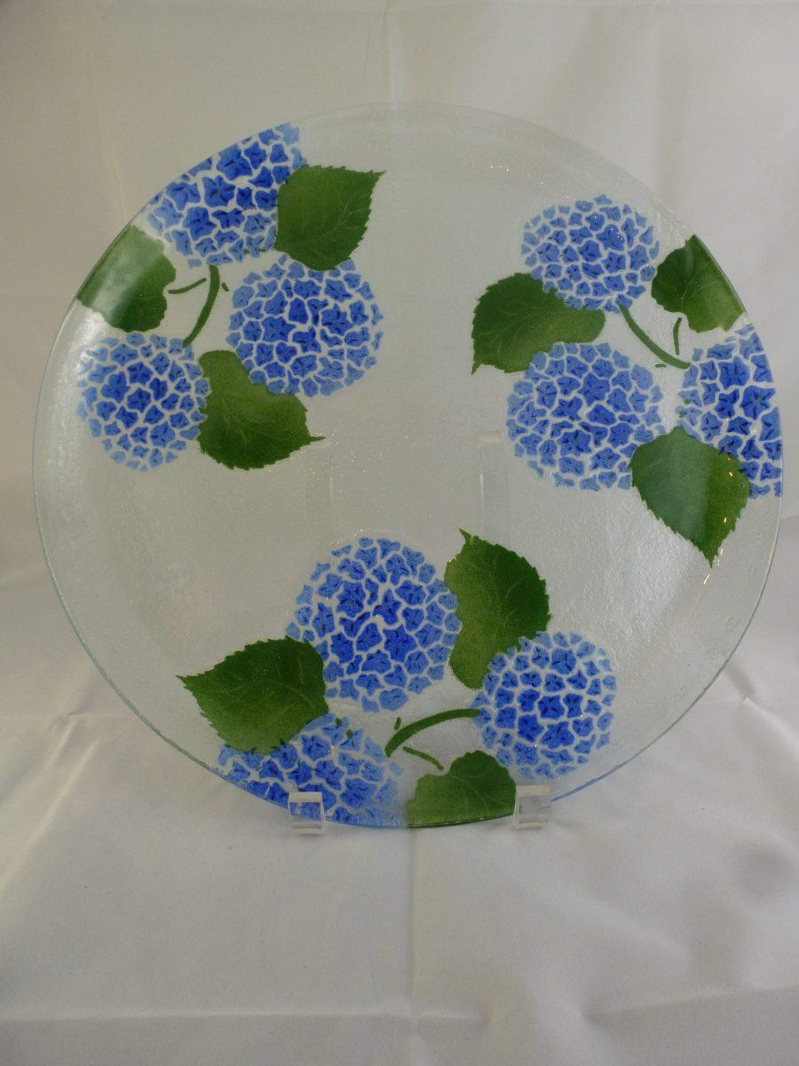 Hydrangea Platter