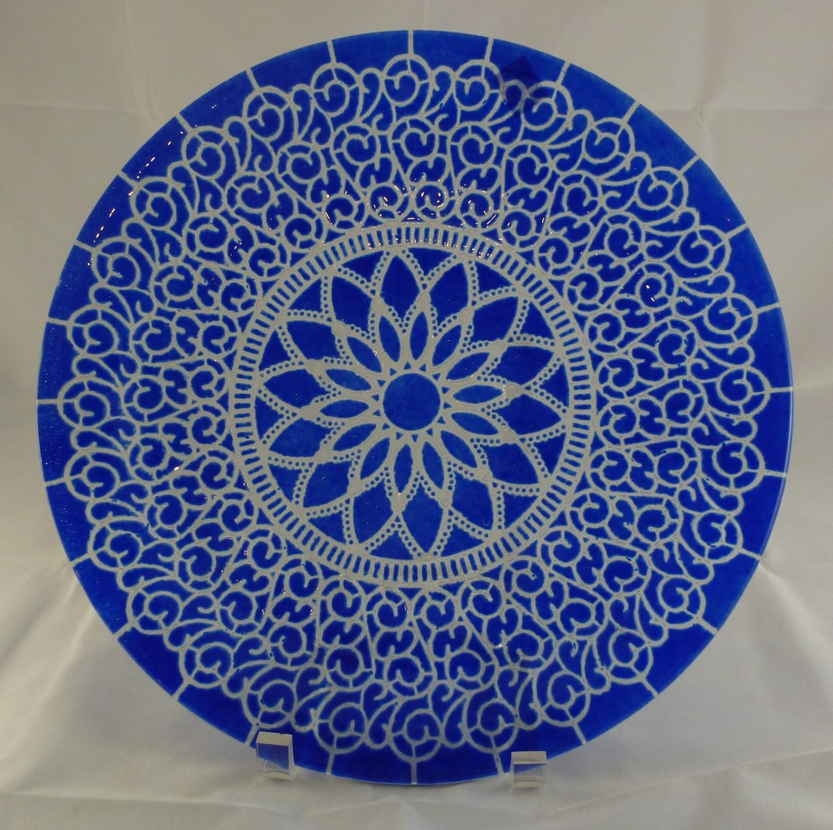 Cobalt Embassy Dinner Plate