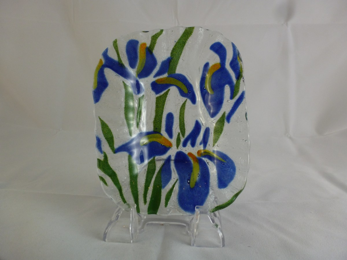 Water Iris Soap Dish
