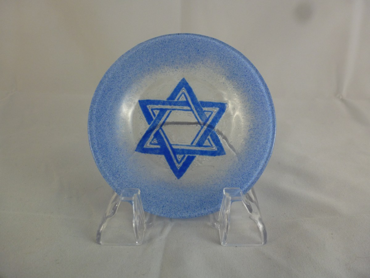 Star of David Cup Plate