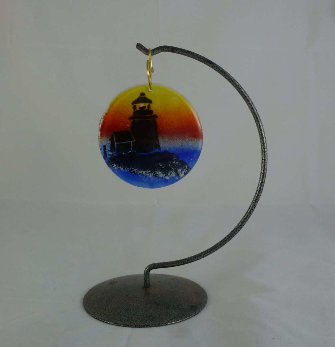 Lighthouse Sunset Ornament