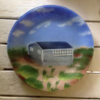 Sydenstricker plate made to match original painting.