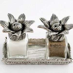 Silvie Goldmark Salt and Pepper Venus Flowers