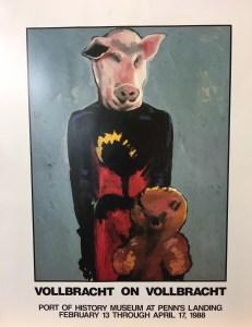 Vollbracht on Vollbracht 1988 poster