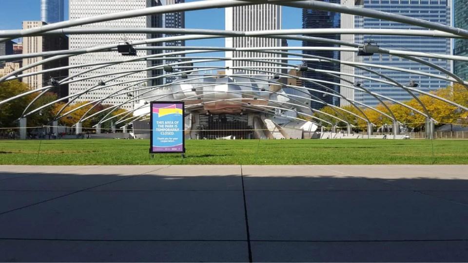 Jay Pritzker Pavilion at the Millennium Park