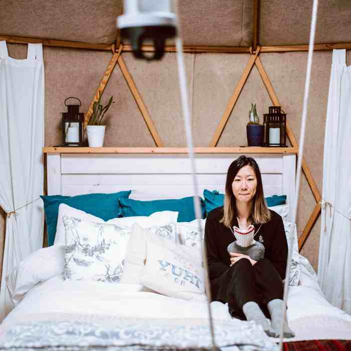 Everything You Need to Know for a Winter Yurt Camping Experience