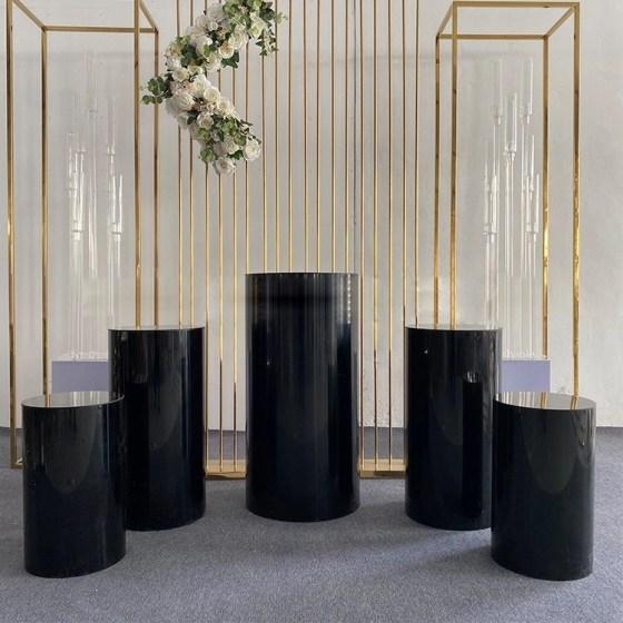 black plinths set of 5