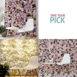Flower Wall Hire Options