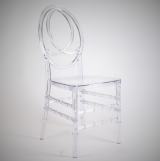 CHANEL CHAIR CLEAR