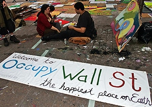 The global Occupy movement is usually portrayed negatively by mainstream media. [Image: Flickr/David Shankbone]