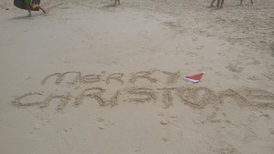 Christmas on Bondi Beach