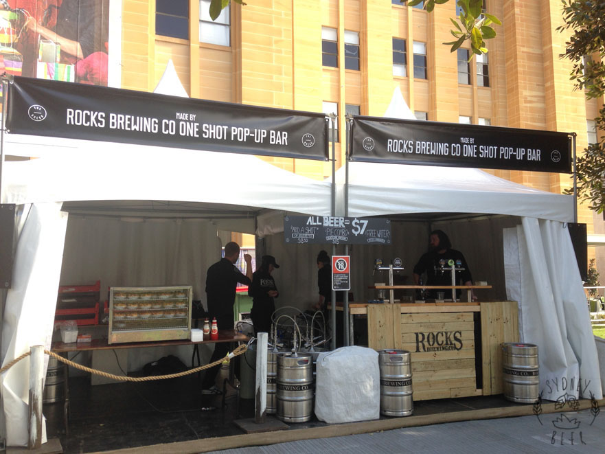 Aroma Coffee Festival Rocks Brewing Pop Up Bar