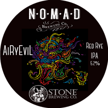 Nomad Stone AiRyEvil label - designed by Alex Latham