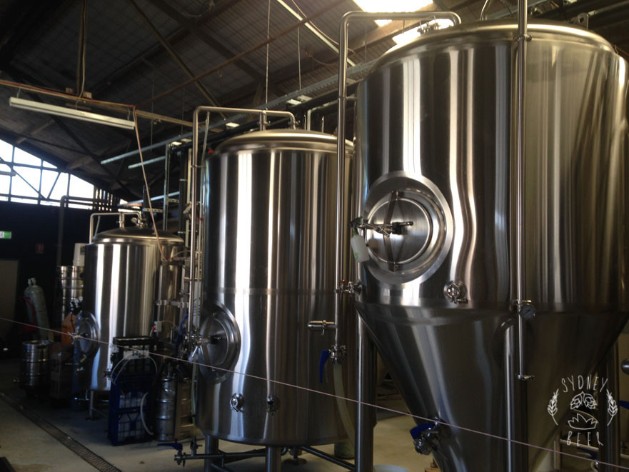 Batch Brewing stainless steel