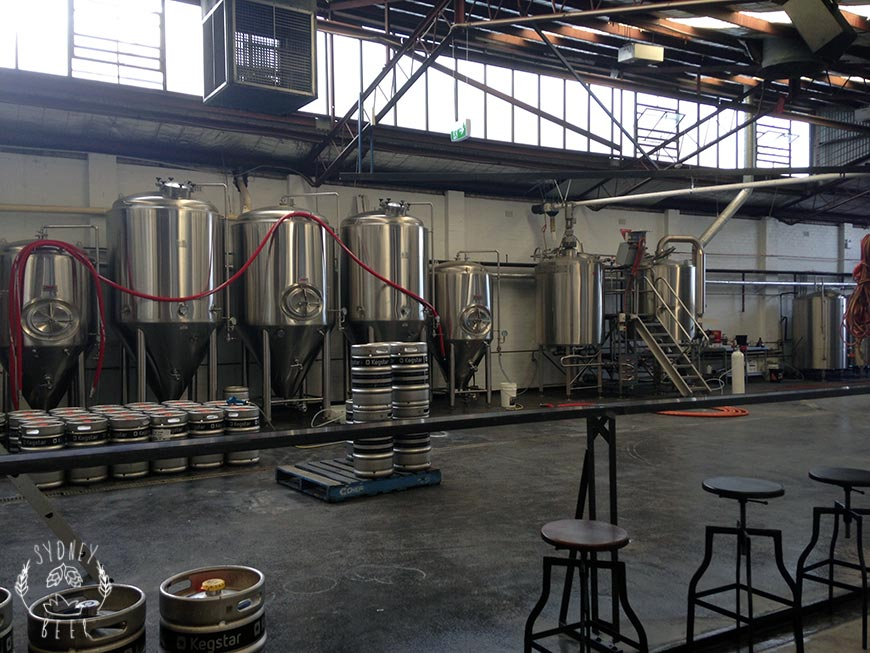 The Grifter Brewing Co stainless steel