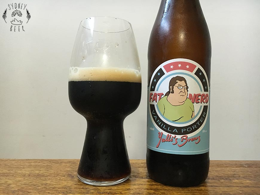 Yulli's Brews Fat Nerd Vanilla Porter