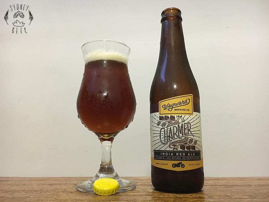 Wayward Charmer India Red Ale bottle