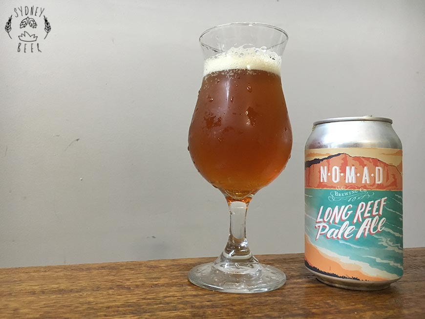 Nomad Long Reef Pale Ale