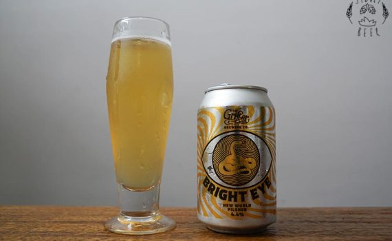 The Grifter Bright Eye New World Pilsner