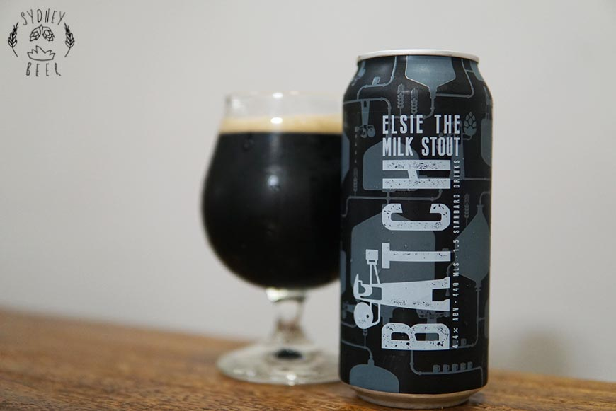 Batch Elsie The Milk Stout