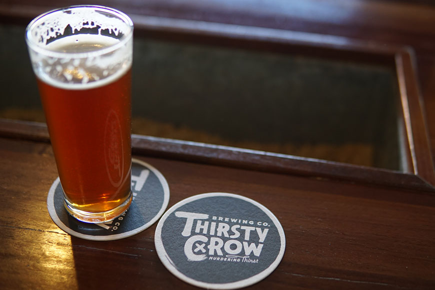 Thirsty Crow beer