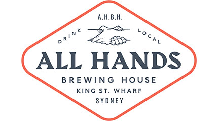 All Hands Brewing House logo