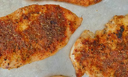 tasty and juicy baked chicken breast
