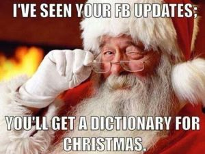 Santa dictionary