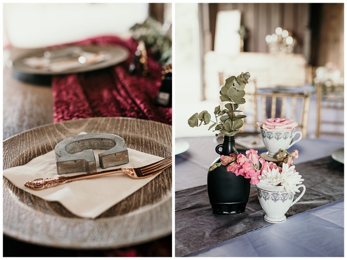 Wedding Details at The Emerald Hill, NC