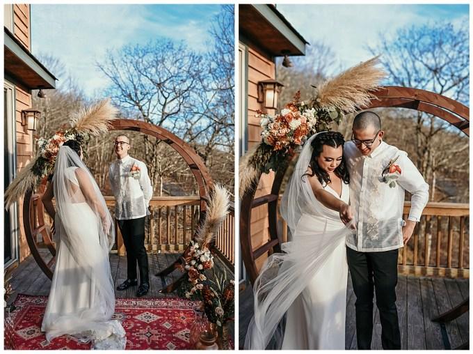 West Jefferson, NC wedding