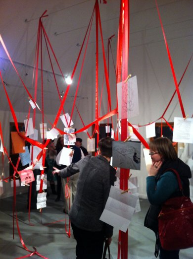 Exhibition View, Love Letters to Feminism 2012, Edmonton