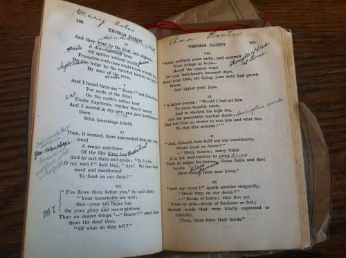 ... someone (several someones, actually) had responded to the poems in a variety of ways!