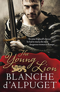 The Young Lion by Blanche d'Alpuget cover