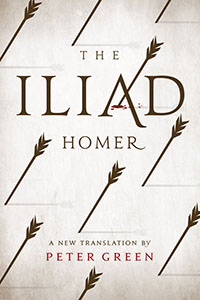 Homer's The Iliad translated by Peter Green Cover