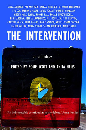 The Intervention An Anthology edited by Rosie Scott and Anita Heiss cover