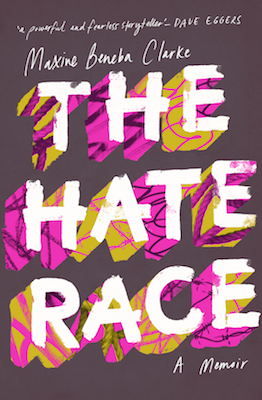 The Hate Race by Maxine Beneba Clarke book cover