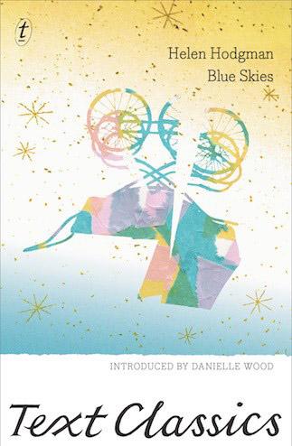 Blue Skies by Helen Hodgman book cover