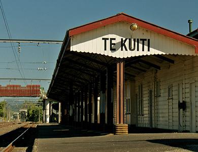 Te Kuiti Rail Station