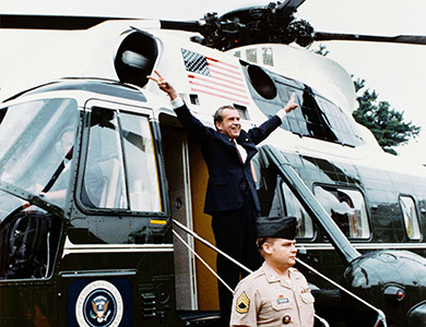 Richard Nixon post-truth
