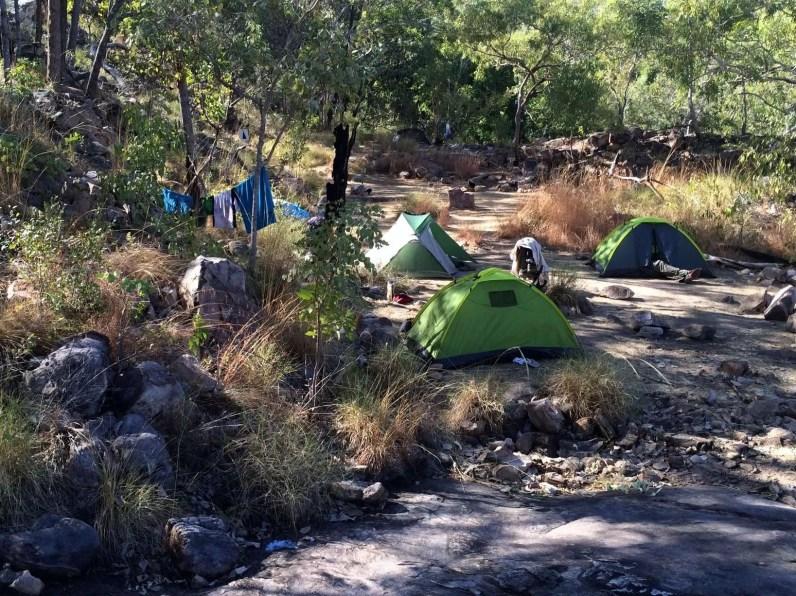 Jatbula campsite