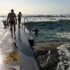 Austinmer Ocean Pools swell
