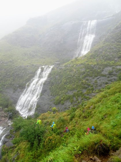 Waterfall crossings