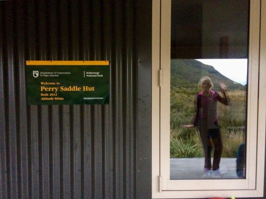 Heaphy Track Perry Saddle Hut